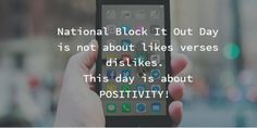 STOMP Out Bullying National Block It Out Day