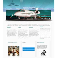 Clear Sky Ahead Aviation sells and markets corporate jets in Dulles, Virginia. With more than 20 years of experience, they know the aviation market. We designed their website to not only represent their brand in a visually pleasing way, but also to showcase their inventory of jets and planes effectively.