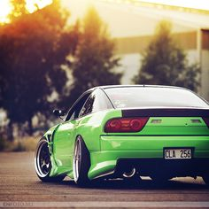Nissan 180sx like the color