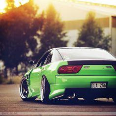 Nissan 180sx like the color