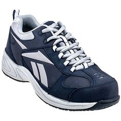 7150326673b Reebok Shoes  Men s Navy RB1820 Jorie EH Composite Toe Jogger Oxford Shoes