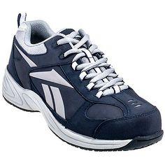 55384b0afc34 Reebok Women s Navy RB182 Jorie EH Non Metallic Composite Toe Shoes Women Oxford  Shoes