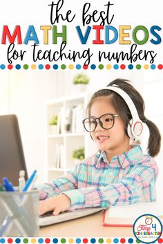 If you are teaching numbers to your kindergarten class, you can use number videos, and number games to help them master their numbers. These are some of the best number videos to help kids learn their numbers. Rhyming Activities, Kindergarten Math Worksheets, Kindergarten Class, Math Resources, Teaching Numbers, Teaching Math, Number Games, Work Stations, Math Concepts