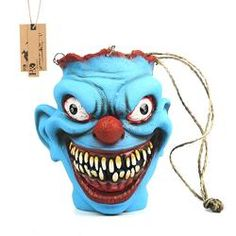 Scary Latex Halloween Trick Or Treat Candy Bucket