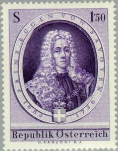 Mnh Easy To Use scott 709 Creative 1963 Austria Prince Eugene Of Savoy