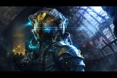 Astronaut_Concept practice 9 by ~ivany86 on deviantART