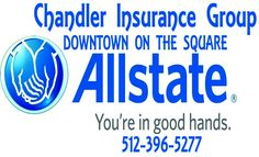 DOWNTOWN ON THE SQUARE    You're in good hands. | Allstate Insurance - Chandler Insurance Group - San Marcos, TX #texas #SanMarcosTX #shoplocal #localTX