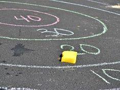 11 Super cool sidewalk chalk games for kids Lady Lemonade Outdoor Summer Activities, Outdoor Learning, Outside Activities, Outside Games For Kids, Outdoor Games For Kids, Fishing Games For Kids, Therapy Activities, Science Activities, Kids Therapy