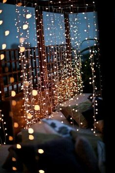 And then nothing matters but xmas lights and flashy strings