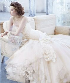 Modernos vestidos de novia | Trajes de novias Coleccion Lazaro Fall