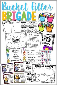 Create a climate of Bucket fillers when school starts. This fun, colorful packet will make Bucket Filling second nature in your classroom!