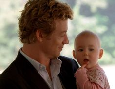"""'Patrick Jane' played by Simon Baker, in """"The Mentalist""""."""