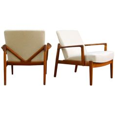 Teak Armchairs by Tove and Edvard Kindt-Larsen ca.1950's