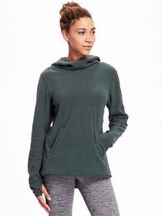 Go-Warm Performance Fleece Hooded Pullover for Women