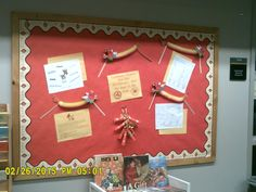 This is an example of a dimensional bulletin board.