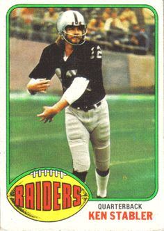 - Oakland Raiders - Football Cards - autographed NFL jerseys, helmets and collectibles Raiders Quarterback, Raiders Players, Oakland Raiders Football, Nfl Raiders, Raiders Baby, Football Memes, Nfl Football, American Football, School Football