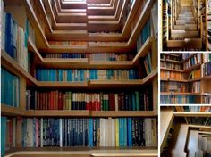 How to store your books at home? Stairs