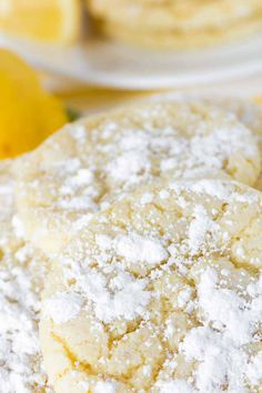 Crisp on the outside, with a soft center, tangy from the lemon and sweet as all cookies should be!  #glutenfreelemoncrinklecookies #glutenfreelemoncrinkle #lemoncrinklecookies #lemoncrinklecookiesfordays #lemoncrinklecookieslime #lemoncrinklecookiestotherescue Easy Pasta Recipes, Easy Meals, Recipe Pasta, Dinner Recipes, Healthy Toddler Meals, Toddler Food, Healthy Food, Healthy Recipes, Catering Food Displays