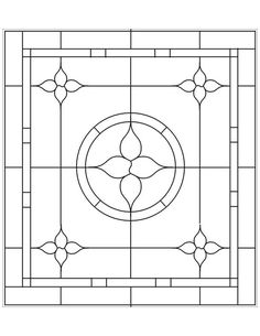 ★ Stained Glass Patterns for FREE ★ glass pattern 899 ★