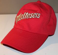3035320f3b8 Maltesers Chocolate Candy Mens Hat Cap Adjustable Strap CT6550 100% Cotton   KNP  Hat