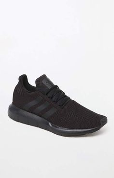 041edc3e8341 adidas Swift Run Knit Black Shoes