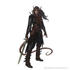 ArtStation - Pathfinder Characters, Javier Charro