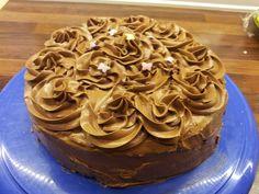 Kjøkkenglede: Bløtkake med sjokoladekrem