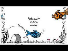 Vissie die swem in die water