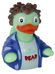 CelebriDucks The Floating Dead Zombie RUBBER DUCK 881644811197 | eBay