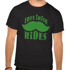 ==>Discount Free irish mustache rides t shirt Free irish mustache rides t shirt today price drop and special promotion. Get The best buyThis Deals Free irish mustache rides t shirt today easy to Shops & Purchase Online - transferred directly secure and trusted ch...Cleck link More >>> http://www.zazzle.com/free_irish_mustache_rides_t_shirt-235817704178065327?rf=238627982471231924&zbar=1&tc=terrest