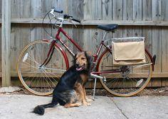 Eighteenth Century Agrarian Business: diy: bike pannier