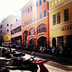 Hamilton, Bermuda.Pin provided by Elbow Beach Cycles http://www.elbowbeachcycles.com