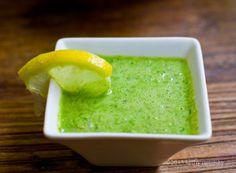 This Green Princess Salad Dressing is .. amazing! #vegan