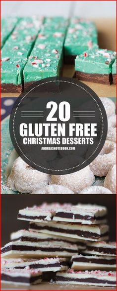 20 Gluten Free Dessert Recipes for Christmas glutenfree glutenfreedessert Paleo Dessert, Dessert Oreo, Dessert Sans Gluten, Low Carb Dessert, Dessert Recipes, Party Recipes, Party Snacks, Gluten Free Deserts, Gluten Free Sweets