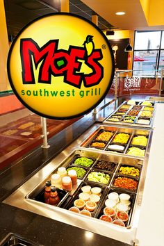 Moe's Southwest Grill has a variety of delicious food options to fill your cravings.