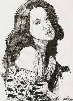 Sketchy #785: Nicole Kirigin by Ally Pena