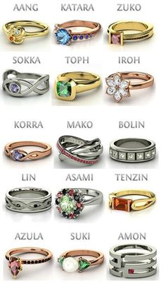 Avatar Character Rings
