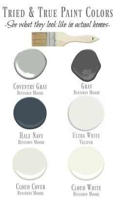 I shared my favorite paint colors- they are tried and true paints! I shared examples of the paint painted in homes. Cloud White, Cloud Cover, Hale Navy...