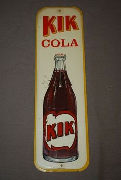 KIK Cola Cola Drinks, Pepsi Cola, Pop, Beverages, Alcohol, Beer, Juices, Canning, Bottle