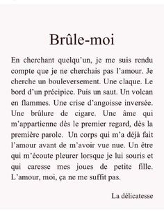 French Poems, French Quotes, French Basics, Mood Words, Words Quotes, Life Quotes, Neon Quotes, Cute Relationship Texts, French Expressions