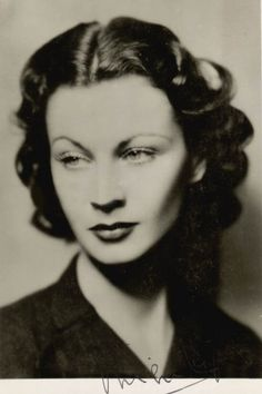 when i was little, after seeing Gone with the Wind, i always wanted to be just like...  Vivien Leigh