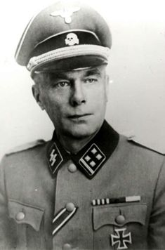Waffen-Obstubafhr. Karlis Aperäts. Kdr. Waffen-G.R. 32 (lett. Nr. 2) der SS. RK. 21.9.1944. + 16.7.1944 en el frente del lago Peipus (Rusia).