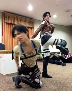 So I was scrolling through random aot cosplays and i found this.. Eren/Kaname's expression is PURRFECT  Admin  : I don't own the pic or the cosplay... found in google CN: @reika_japan_ and Kaname as Levi and Eren #erenjaeger #eren #jaeger #leviackerman #levi #ackerman #attackontitan #aotcosplay #aot #shingekinokyojin #snk #snkcosplay #levicosplay #erencosplay #japan #kick #yaoi #erenxlevi #levixeren #ereri #riren #yaoicosplay #funny #handsome #anime #manga #animecosplay #otaku #shounen