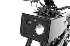 08 Yamaha Scorpio moto à angles par le studio Thrive Motorcycle