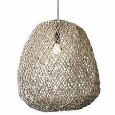 Abby Large Pendant Light Natural   INTERIORS ONLINE Large Pendant Lighting, White Pendant Light, Pendant Lights, Pendant Lamp, African Furniture, Lighting Suppliers, Colored Ceiling, Interiors Online, Bold Fashion
