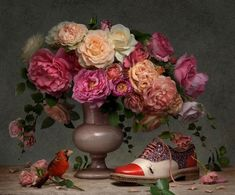 christian louboutin spring 2014 campaign7 Shoe Art: Christian Louboutins Painted Spring 2014 Campaign