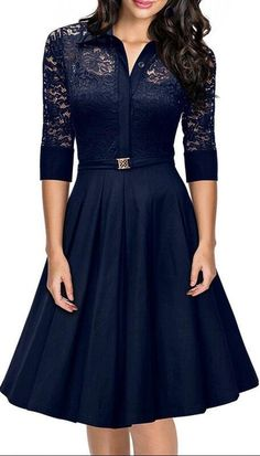 Looking for MissMay MissMay Women's Vintage Style Sleeve Black Lace Flare A-line Dress ? Check out our picks for the MissMay MissMay Women's Vintage Style Sleeve Black Lace Flare A-line Dress from the popular stores - all in one. Pretty Dresses, Beautiful Dresses, Swing Dress, Dress Up, Dress Shawl, Dress Suits, Open Dress, Dress Hire, Ruffle Dress