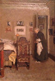 ÉDOUARD VUILLARD  The Artist's Mother in Her Apartment, Rue de Calais, Paris-Morning