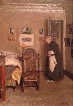 ÉDOUARD VUILLARD  The Artist's Mother in Her Apartment, Rue de Calais, Paris-Morning