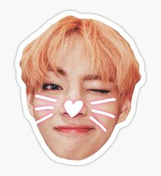 BTS V Sticker Sticker